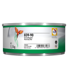 Glasurit 839-90 Plastic Body Filler Grey