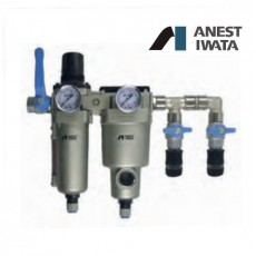 Iwata Air Filter Regulator Double Stage